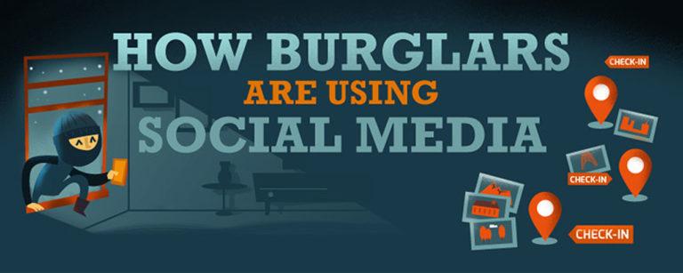 how burglars use social media header image