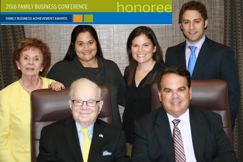 2016 Family Business Achievement Award