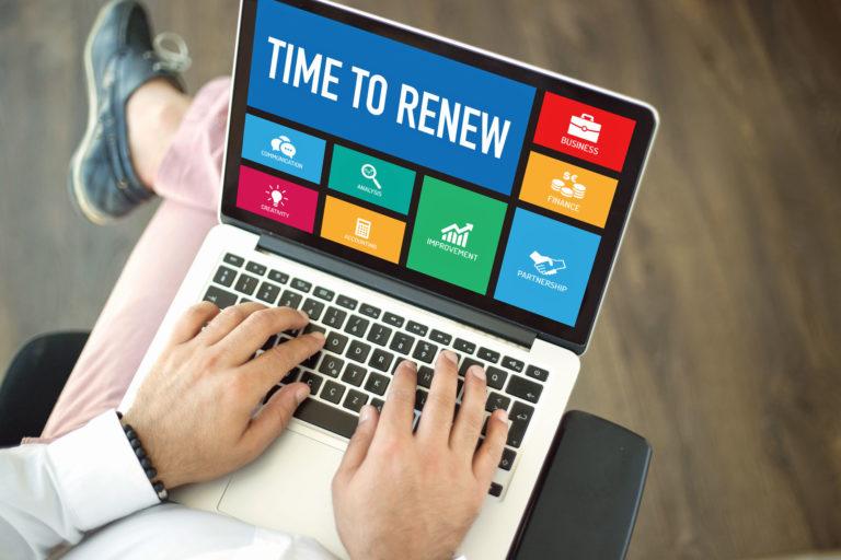 how to renew surety bonds