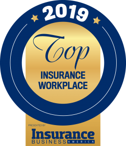 2019 Top Insurance Workplace by Insurance Business Magazine
